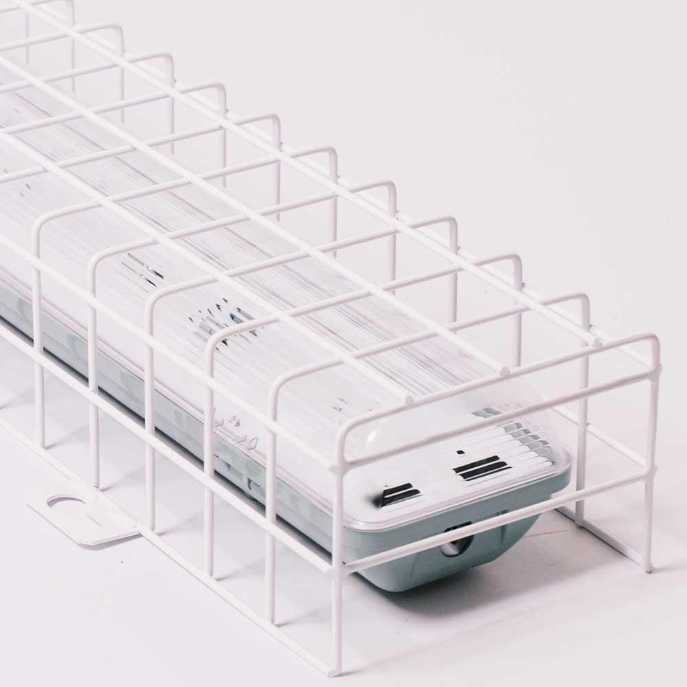 mriežky zabezpečujúce lampy na mieru, ochranná sieťka konštrukcie 2x36W